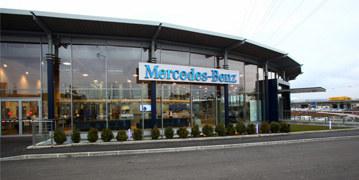 Agence Mercedes-Benz Rent à Lyon Saint-Fons