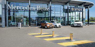 Agence Mercedes-Benz Rent à Nice Villeneuve-Loubet