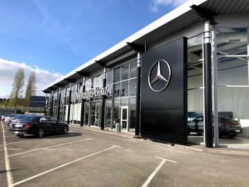 Agence Mercedes-Benz Rent à Rennes